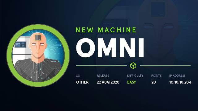 HackTheBox Omni Walkthrough