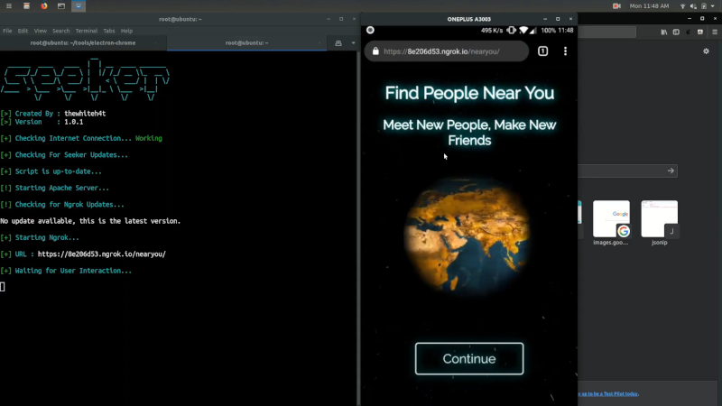 Seeker - Find Geolocation with High Accuracy