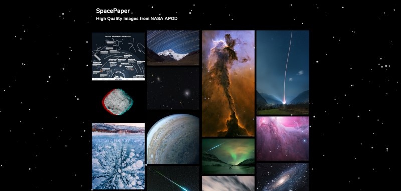 SpacePaper | High Quality Images from NASA APOD